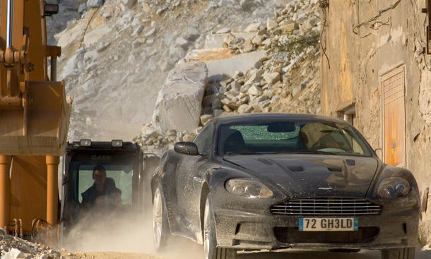 James Bond 2008 Quantum of Solace Trost  Daniel Craig Car