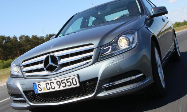 Bilder Mercedes C-Klasse Sicherheitsausstattung