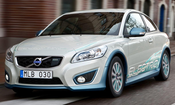 volvo c30 electric test elektroauto. Black Bedroom Furniture Sets. Home Design Ideas