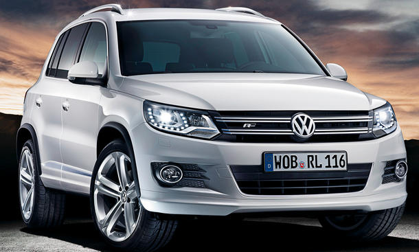 vw tiguan r line 2011 sportpaket f r das kompakt suv. Black Bedroom Furniture Sets. Home Design Ideas