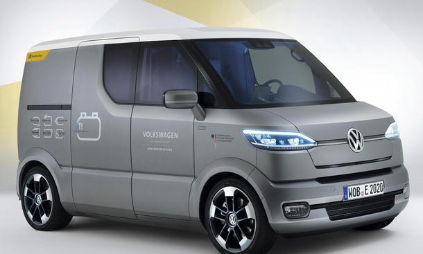 VW eT Concept Postauto Zukunft