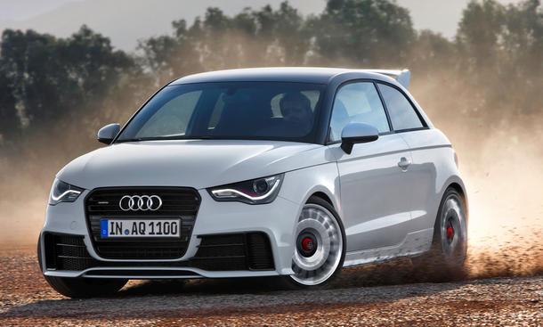 Audi A1 Quattro 2012 Sondermodell limitiert Power-Kleinwagen Audi S1