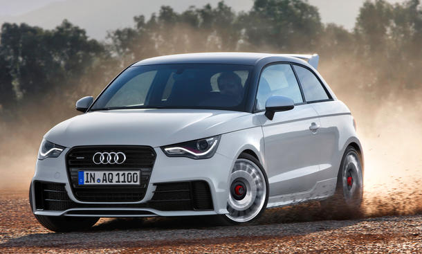official audi a1 quattro s1 with 252 hp nordschleife autoblahg. Black Bedroom Furniture Sets. Home Design Ideas
