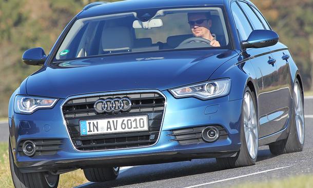Audi A6 Avant 3.0 TDI Vergleichstest