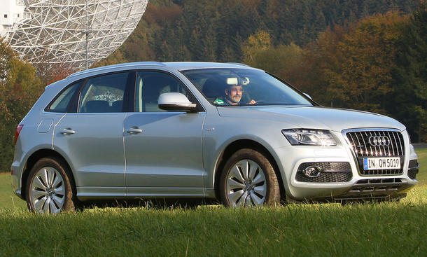 Audi Q5 hybrid quattro Test