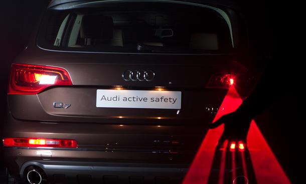 Audi-Sicherheit: Laser-Nebelschlusslicht