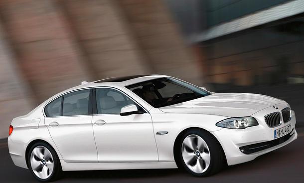 BMW 520d CO2 Effizienzklassen Effizienzskala Gewinner