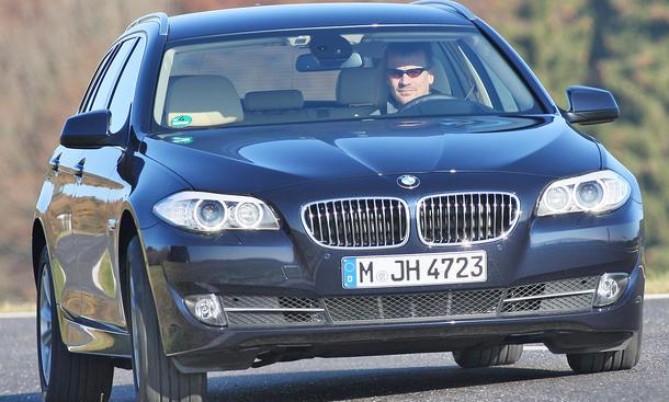 BMW 525d Touring Vergleichstest