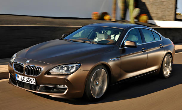 BMW 6er Gran Coupé 2012 viertürig Sportlimousine