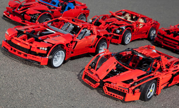 Anyone See These 8070 Prototype Pics Lego Technic And Model Team