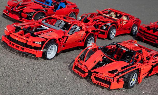 Bilder Faszination Auto LEGO Technic Supercar Weihnachten 2011