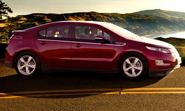 Chevrolet Volt Test
