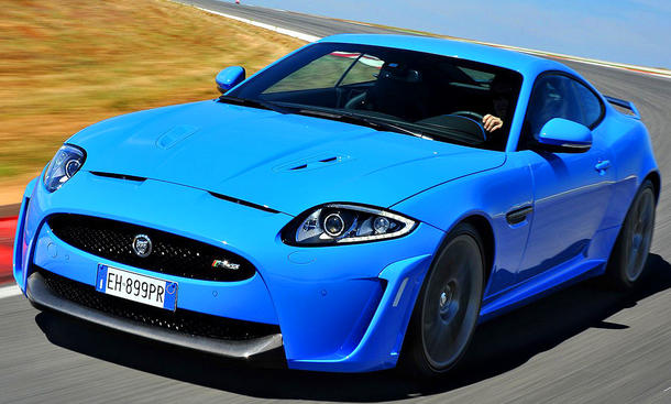 Jaguar XKR-S Playboy Car of the Year 2012