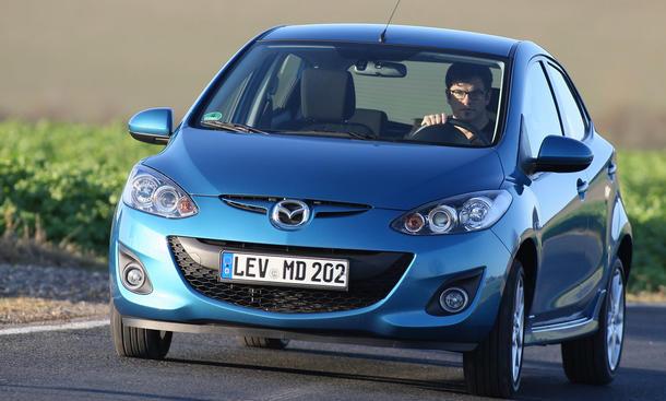 Mazda 2 1.5 - Kurvenräuber
