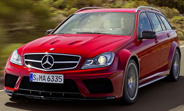 Mercedes C 63 AMG Black Series T-Modell