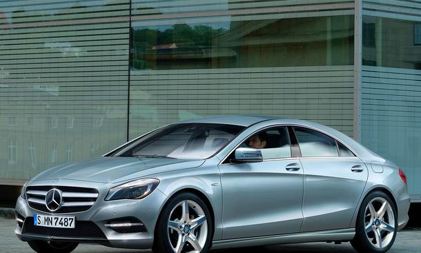 Mercedes CLC viertüriges Coupé A-Klasse 2012 2013 Neuheit