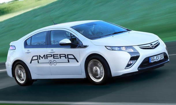 Opel Ampera - Elektroauto