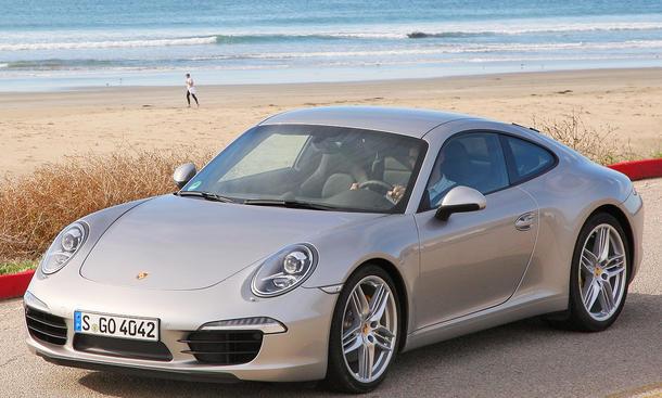 Porsche 911 Carrera S Coupé - Die Front