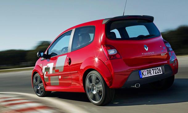 Renault Twingo Sport CO2 Effizienzskala Effizienzklassen Verlierer