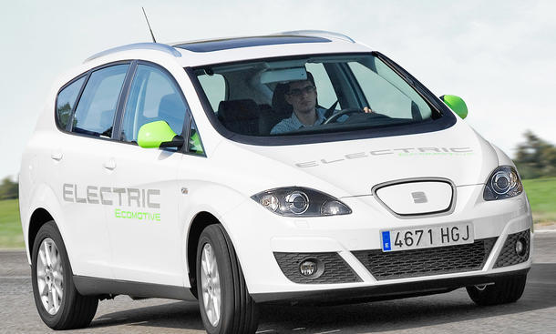 Seat Altea XL Electric Ecomotive - 85-kW-Elektroantrieb