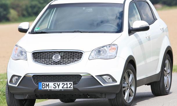 SsangYong Korando e-XDi 200 4WD Test Neu