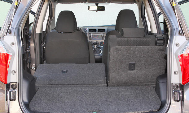 toyota verso s gegen citro n c3 picasso und opel meriva im test bild 24. Black Bedroom Furniture Sets. Home Design Ideas
