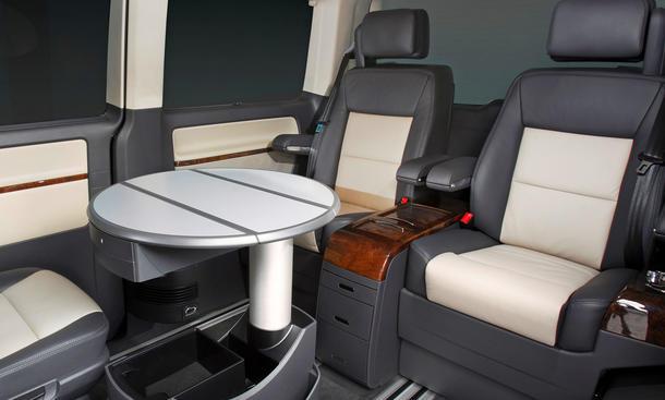 vw multivan business luxus bus f r sechs personen bild. Black Bedroom Furniture Sets. Home Design Ideas