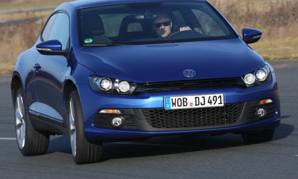Bilder VW Scirocco 1.4 TSI BlueMotion Technology Fahrdynamik