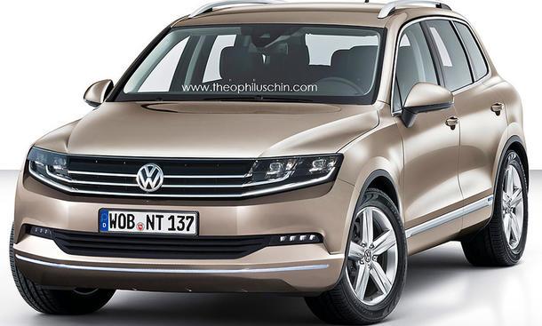 VW Touareg Facelift 2013 SUV Neuheit