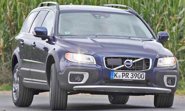 Volvo XC 70 DRIVe - Start-Stopp-System