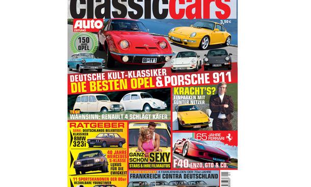 CLASSIC CARS AUTOZEITUNG 1/2012 - Titelstories