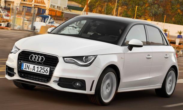 Audi A1 Sportback Fünftürer 2012 Neuheit Preis Euro