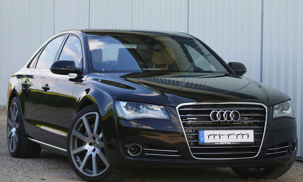 Audi A8 4.2 TDI V8 Tuning MTM Leistungssteigerung