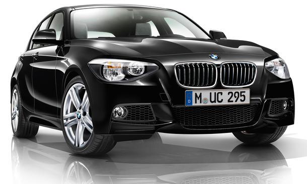 BMW 1er 125i 125d 2012 GTI-Gegner Kompakt-Sportler M Paket M Sportpaket