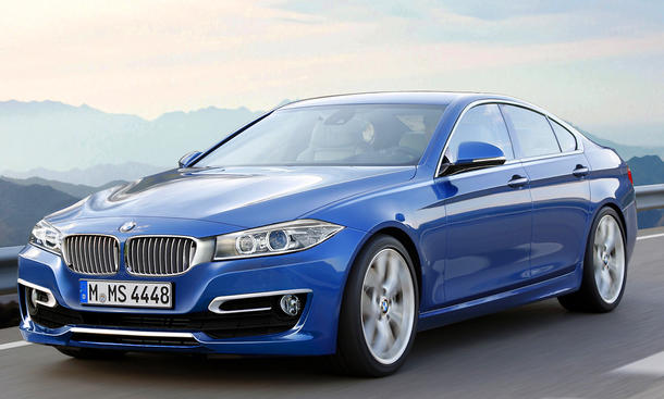 BMW 4er Gran Coupé 2014 projekt plan design schön links