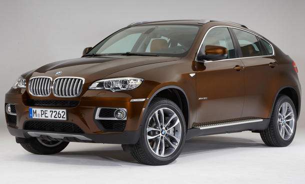 BMW X6 Facelift 2012 Auto Salon Genf 2012