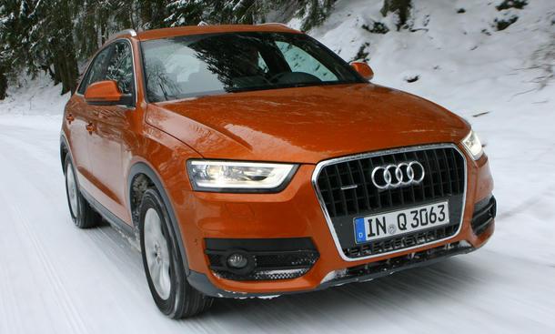 Bilder Audi Q3 2.0 TDI quattro S tronic Vergleich 2012 Preis