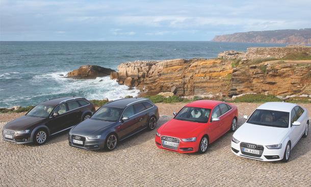 Kaufberatung Audi A4 2012 Facelift