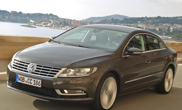 Bilder VW CC 2.0 TDI BlueMotion Technology Fahrbericht 2012 Facelift