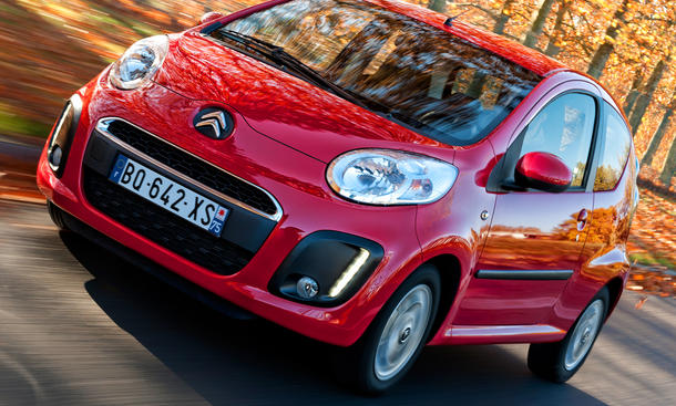 Citroen C1 Facelift 2012 LED