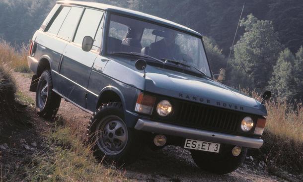 Classic Cars Ikonen: Range Rover - Design-Ikone