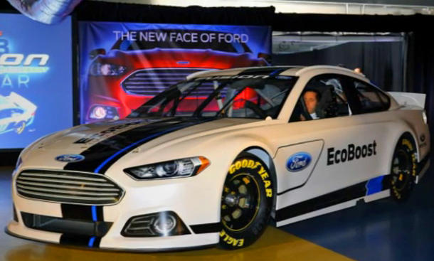 Ford Fusion Nascar: Monster-Mondeo mit 850 PS