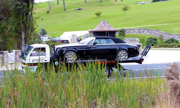 Kim Schmitz Kim Dotcom Megaupload Fuhrpark Neuseeland Mercedes AMG Rolls-Royce Cabrio