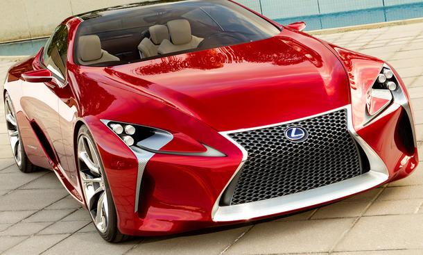 Lexus LF-LC Concept Hybrid Studie Detroit Auto Show 2012 Sport Coupé 2+2