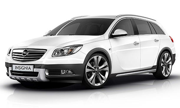 Opel Insignia CrossFour Sports Tourer 2012 Offroad