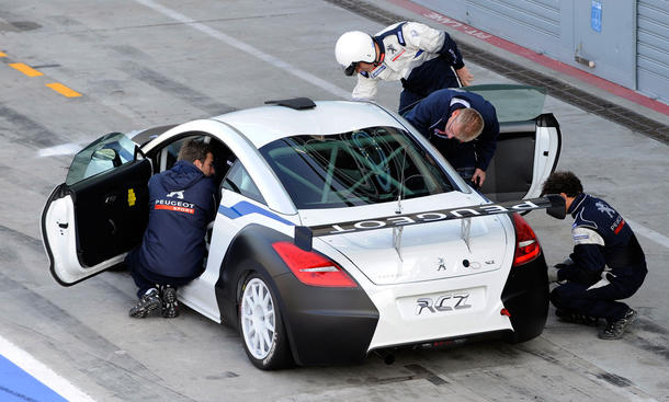 Peugeot RCZ Cup 2012 - 1,6-Liter-Turbobenziner