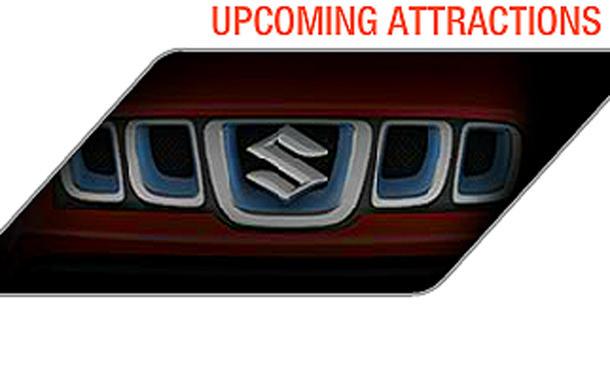 Suzuki Jimny 2012 neu Teaser Bilder Fotos Auto Expo Neu-Delhi 2012