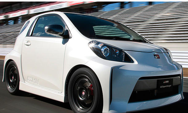 Toyota iQ Supercharger Gazoo Racing GRMN 130 PS Kompressor Kleinserie