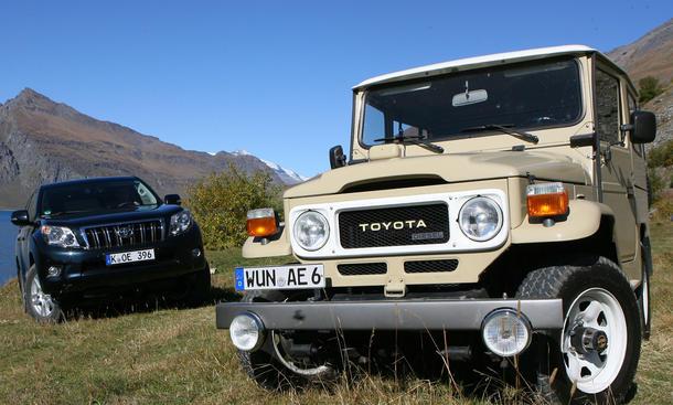 Toyota Land Cruiser - Kleine Pause