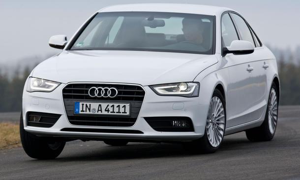 audi a4 1.8 tfsi facelift 2012 im test | autozeitung.de